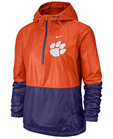 Women's Clemson Tigers Half-Zip Jacket