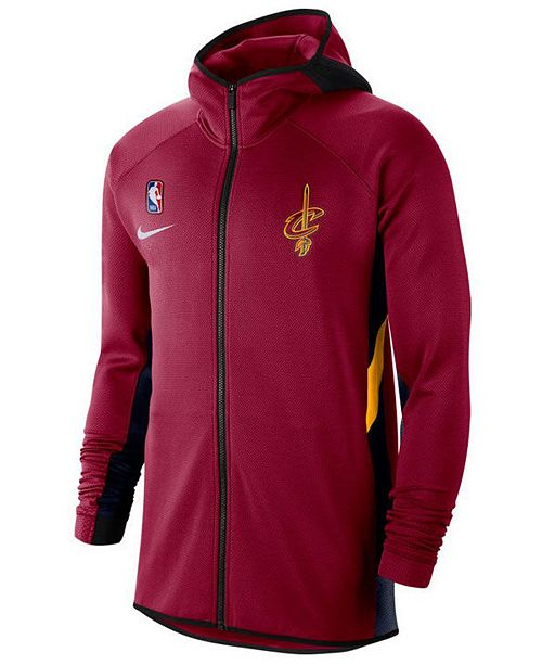 Nike Men's Cleveland Cavaliers Thermaflex Showtime Full-Zip Hoodie