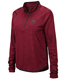 Women's South Carolina Gamecocks Soulmate Quarter-Zip Pullover