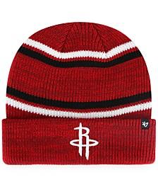 Houston Rockets Marled Stripe Cuff Knit Hat