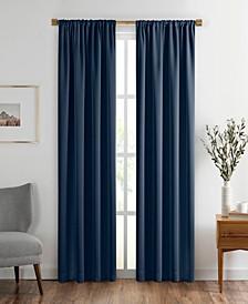 "Vanderbilt Extra Wide Blackout Window Curtain, 52""x84"""