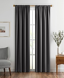 "Vanderbilt Extra Wide Blackout Window Curtain, 52""x108"""
