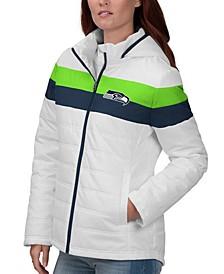 Women's Seattle Seahawks Tie Breaker Polyfill Jacket