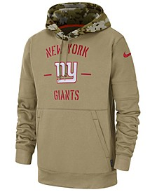 Men's New York Giants Salute To Service Therma Hoodie