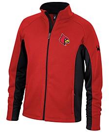 Spyder Men's Louisville Cardinals Constant Full-Zip Sweater Jacket