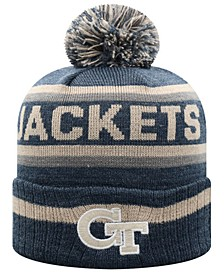 Georgia-Tech Buddy Pom Knit Hat