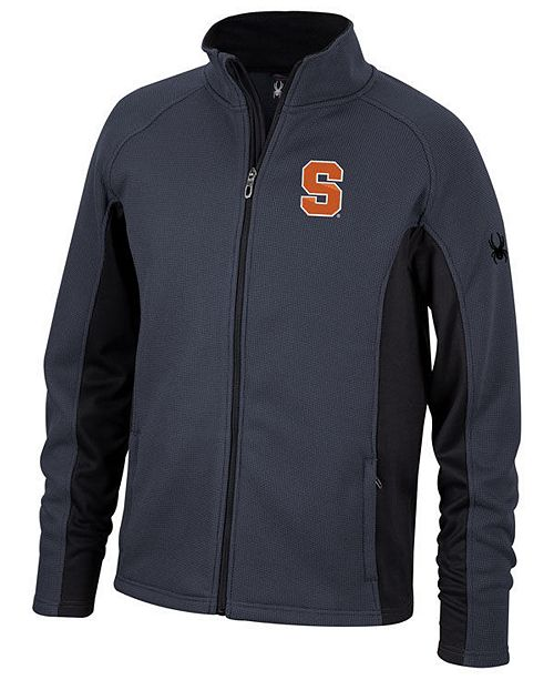 Lids Spyder Men's Syracuse Orange Constant Full-Zip Sweater Jacket