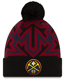Denver Nuggets Big Flake Pom Knit Hat