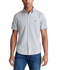 Men's Big & Tall Garment-Dyed Twill Shirt