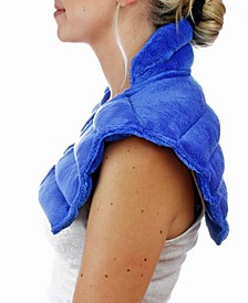 Neck and Shoulder Wrap Microwavable Heating Pad with Lavender Aromatherapy
