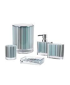 Iced 5 Piece Bathroom Accessory Set
