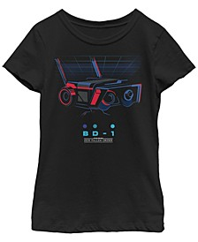 Big Girls Jedi Fallen Order BD-1 Grid Short Sleeve T-Shirt
