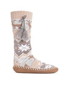Women's Slipper Socks with Tassels
