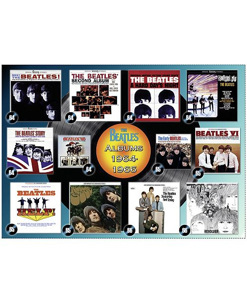 the beatles albums in order