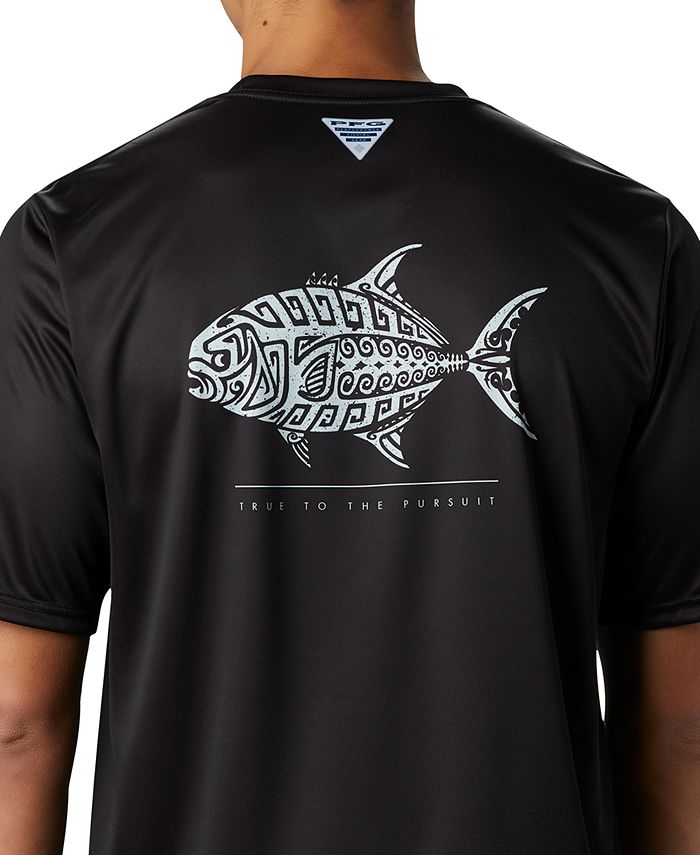 Columbia - Men's PFG Terminal Tackle Tribal Fish T-Shirt