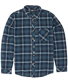 Men's Freemont Stripe Flannel Shirt