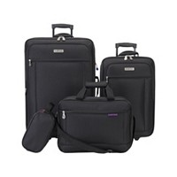 4-Pieces American Explorer Hudson Softside Luggage Set