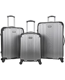 South Street 3-Pc. Hardside Luggage Set, Created for Macy's