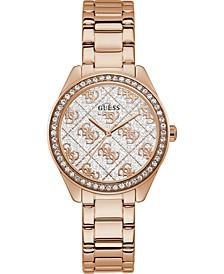 Women's Rose Gold-Tone Stainless Steel Bracelet Watch 36.5mm