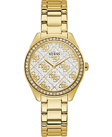 Women's Gold-Tone Stainless Steel Bracelet Watch 36.5mm