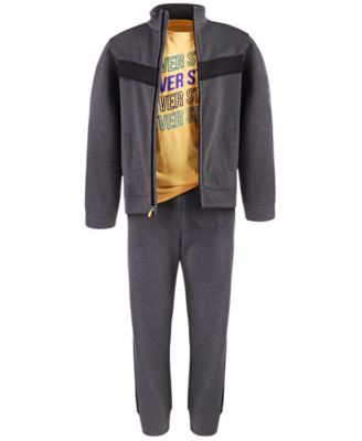 Big Boys Colorblocked Track Pants, Created For Macy's