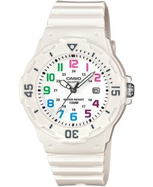 Women's White Resin Strap Watch 34mm