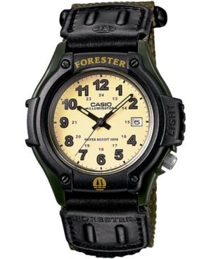 Men's Forester Green Nylon Strap Watch 41mm