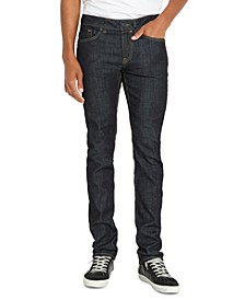 Men's Slim Dark-Wash Jeans