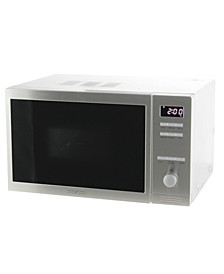 0.8 Cubic Feet Countertop Combo Microwave Oven with Auto Cook and Memory Function.