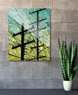 "Electric Link - Summer Sky 24"" x 36"" Acrylic Wall Art Print"