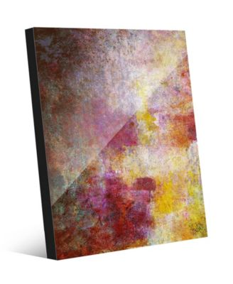 """The Complexity of the Heart Abstract 20"""" x 24"""" Acrylic Wall Art Print"""