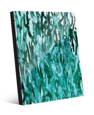 Kitoba in Green Abstract 24