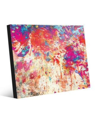 Splatter Shop Vermillion Abstract 20