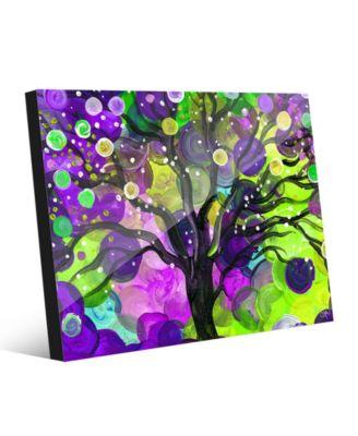 Mystic Orb Tree on Purple Abstract 20