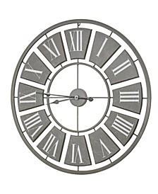 American Art Decor Oversized Vintage-like Wall Clock