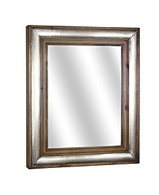 American Art Decor Rectangle Wood Framed Mirror