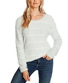 Striped Eyelash Sweater