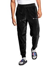 Men's Velour Track Pants