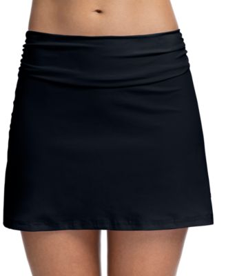 Tutti Frutti High-Waist Swim Skirt