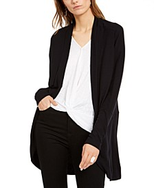INC Petite Dolman-Sleeve Open-Front Cardigan, Created For Macy's