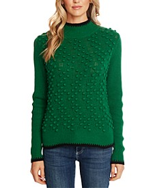 Textured Tipped Sweater