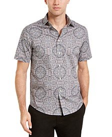 Men's Kaleidoscope Print Shirt, Created For Macy's