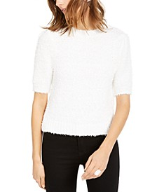 INC Short-Sleeve Puff Sweater, Created For Macy's