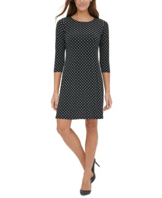 tommy hilfiger polka dot dress