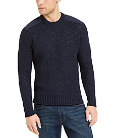 Men's Patch Knit Sweater