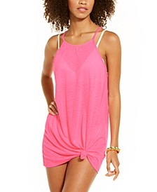 Juniors' Sleeveless Cover-Up Dress, Created for Macy's