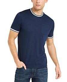 Men's Textured Piqué T-Shirt