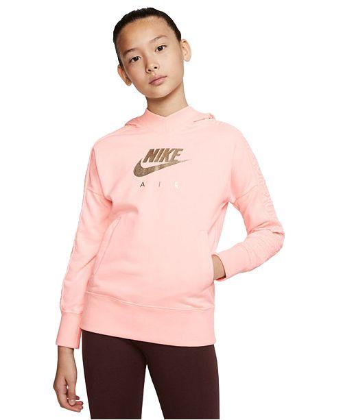 Nike Big Girls Logo-Print Hoodie