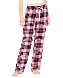 Plaid Flannel Pajama Pants, Online Only