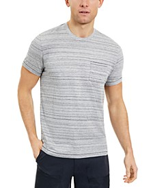 SUN + STONE Men's Striped Pocket T-Shirt, Created For Macy's